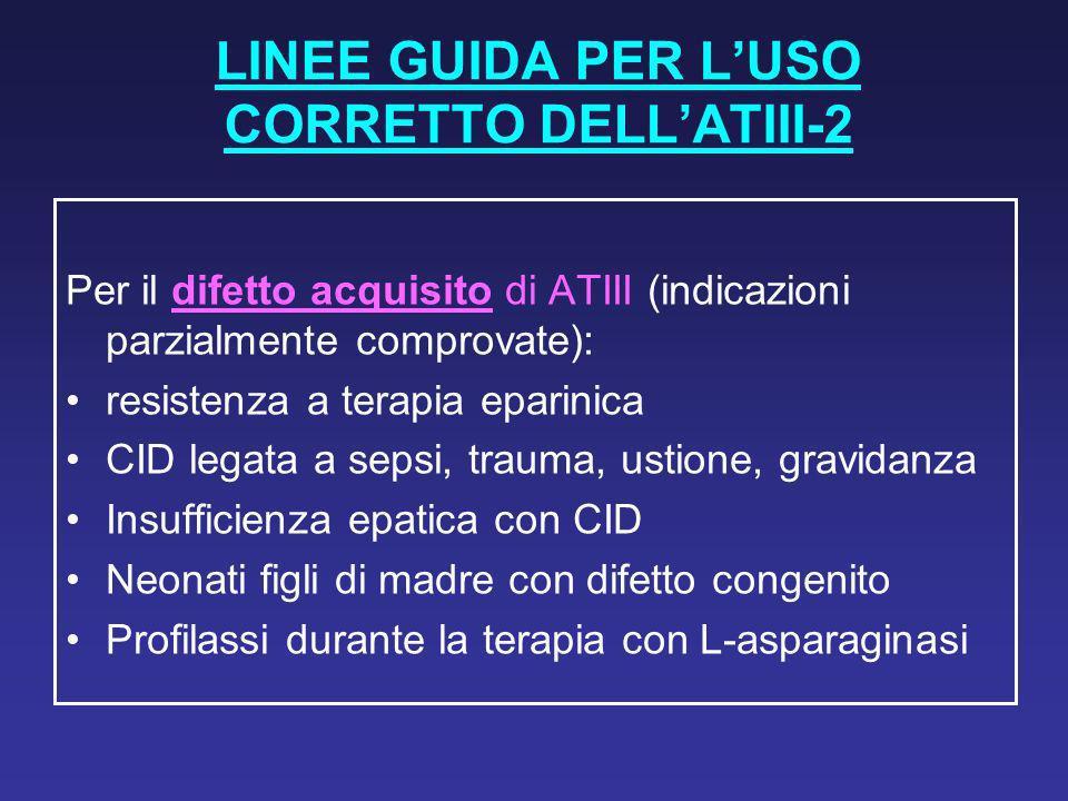 LINEE GUIDA PER L'USO CORRETTO DELL'ATIII-2