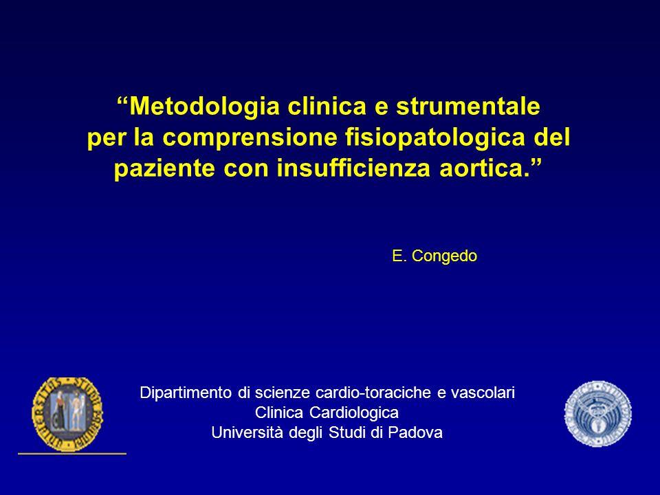 Metodologia clinica e strumentale