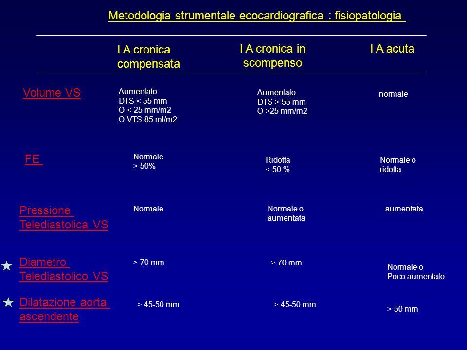 Metodologia strumentale ecocardiografica : fisiopatologia