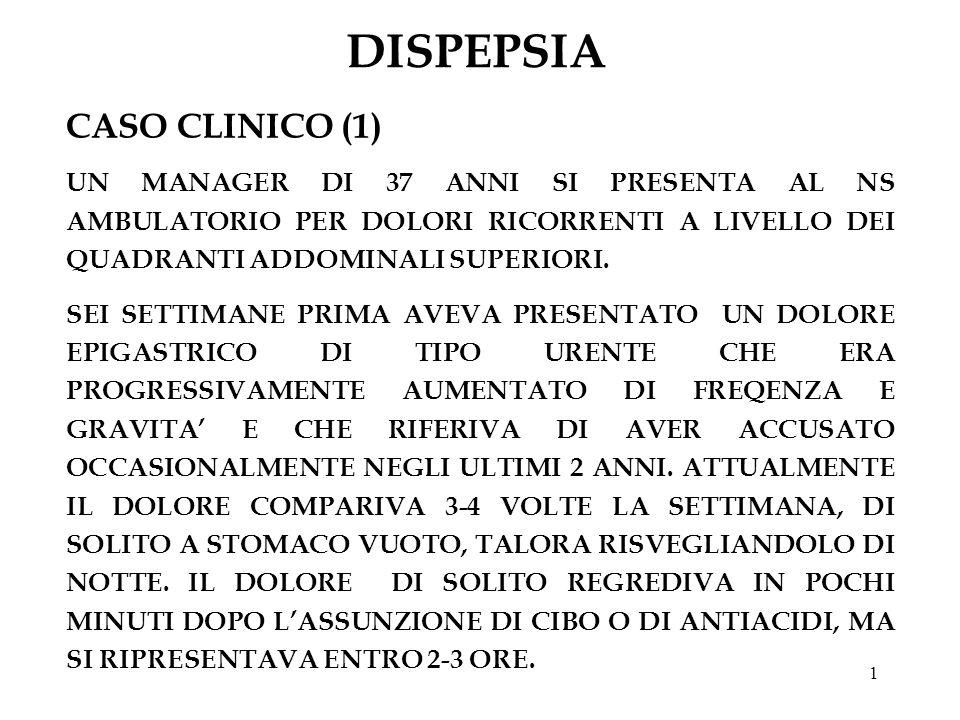 DISPEPSIA CASO CLINICO (1)