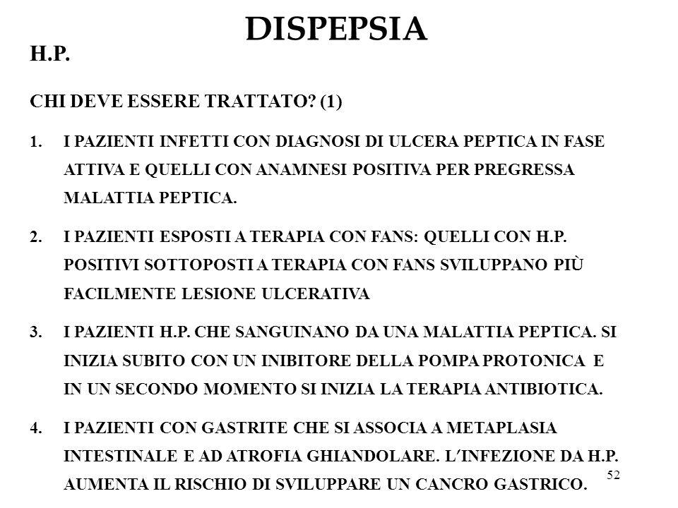 DISPEPSIA H.P. CHI DEVE ESSERE TRATTATO (1)
