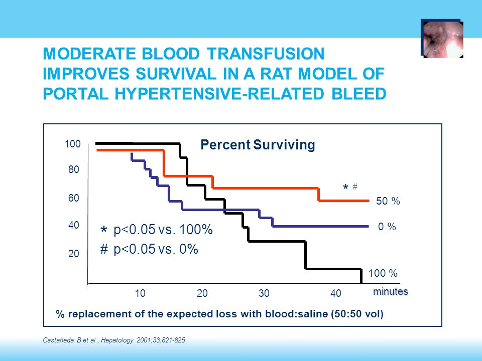 MODERATE BLOOD TRANSFUSION IMPROVES SURVIVAL IN A RAT MODEL OF PORTAL HYPERTENSIVE-RELATED BLEED