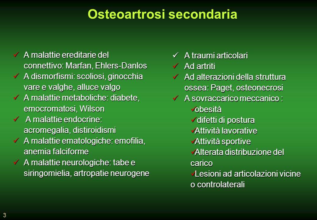 Osteoartrosi secondaria