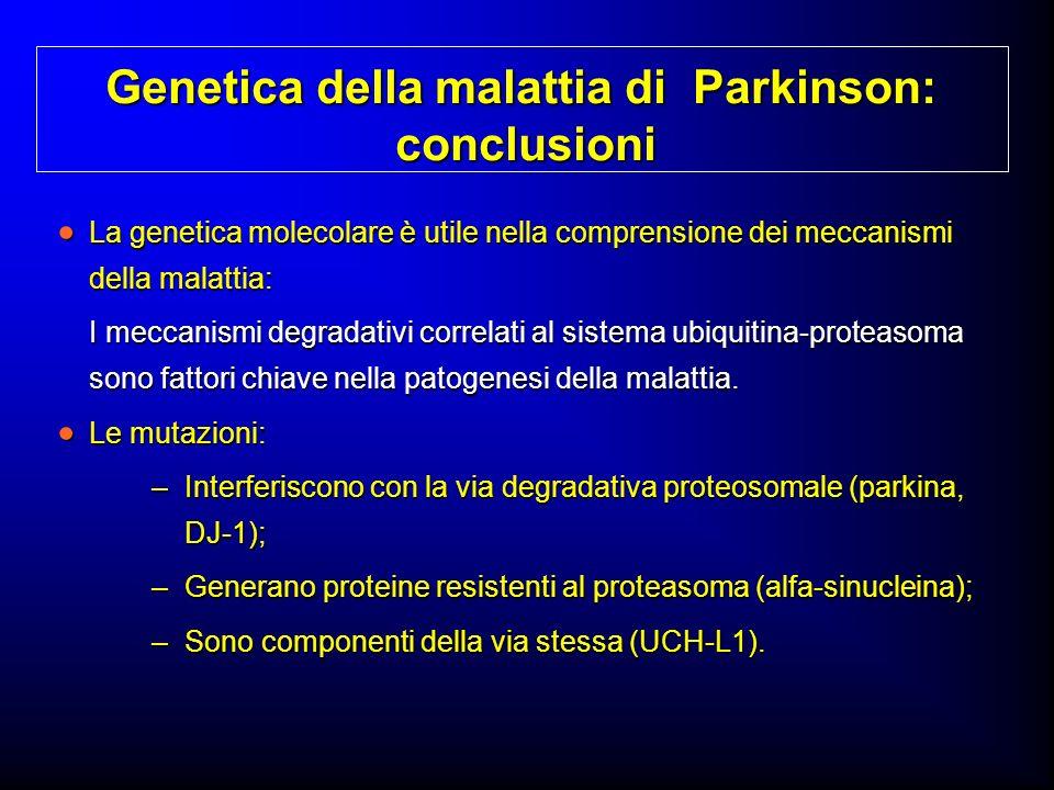 Genetica della malattia di Parkinson: