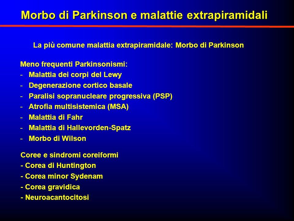 Morbo di Parkinson e malattie extrapiramidali