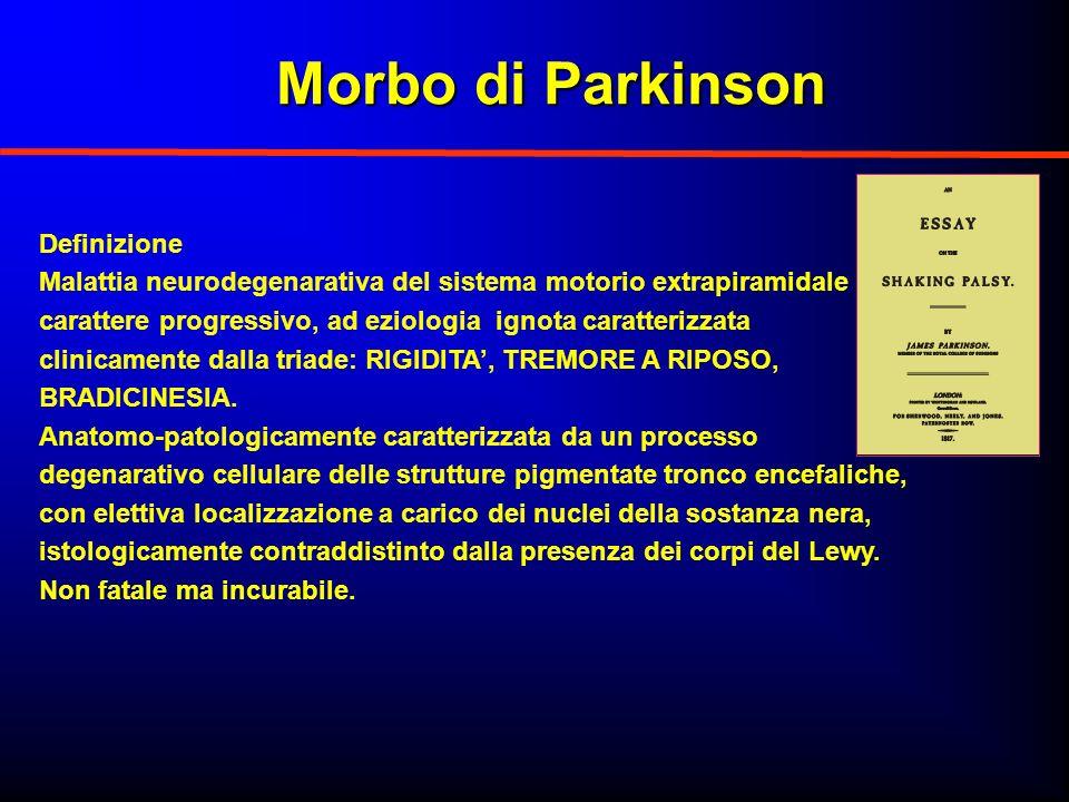 Morbo di Parkinson Definizione