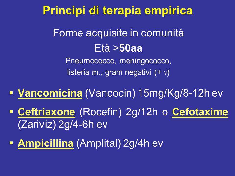 Principi di terapia empirica