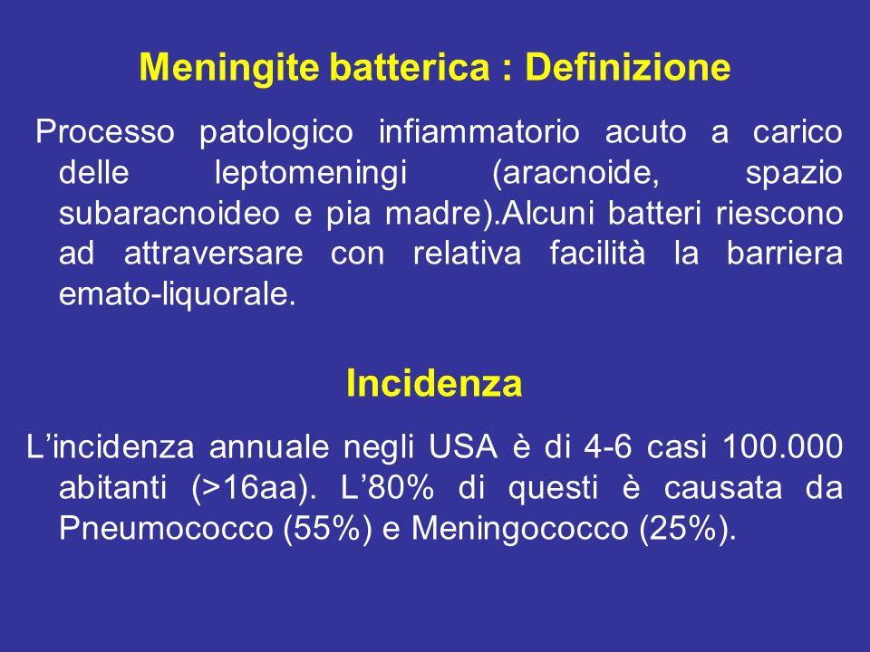 Meningite batterica : Definizione