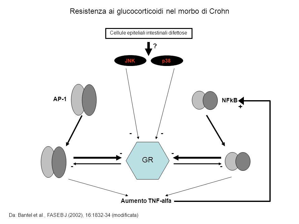 Resistenza ai glucocorticoidi nel morbo di Crohn