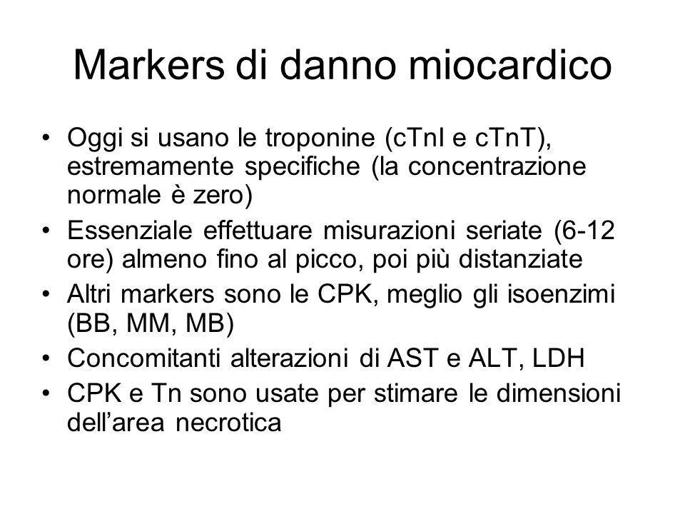 Markers di danno miocardico