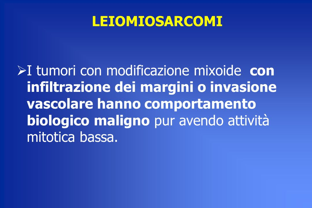 LEIOMIOSARCOMI