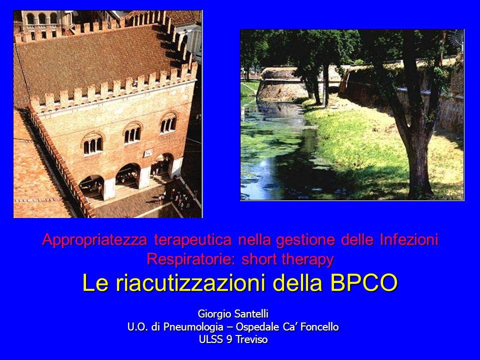 U.O. di Pneumologia – Ospedale Ca' Foncello