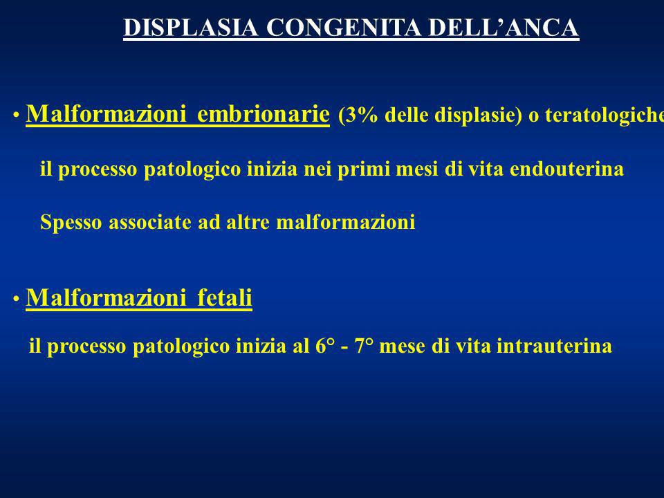 DISPLASIA CONGENITA DELL'ANCA