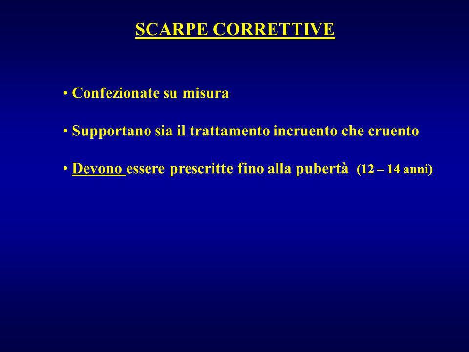 SCARPE CORRETTIVE Confezionate su misura