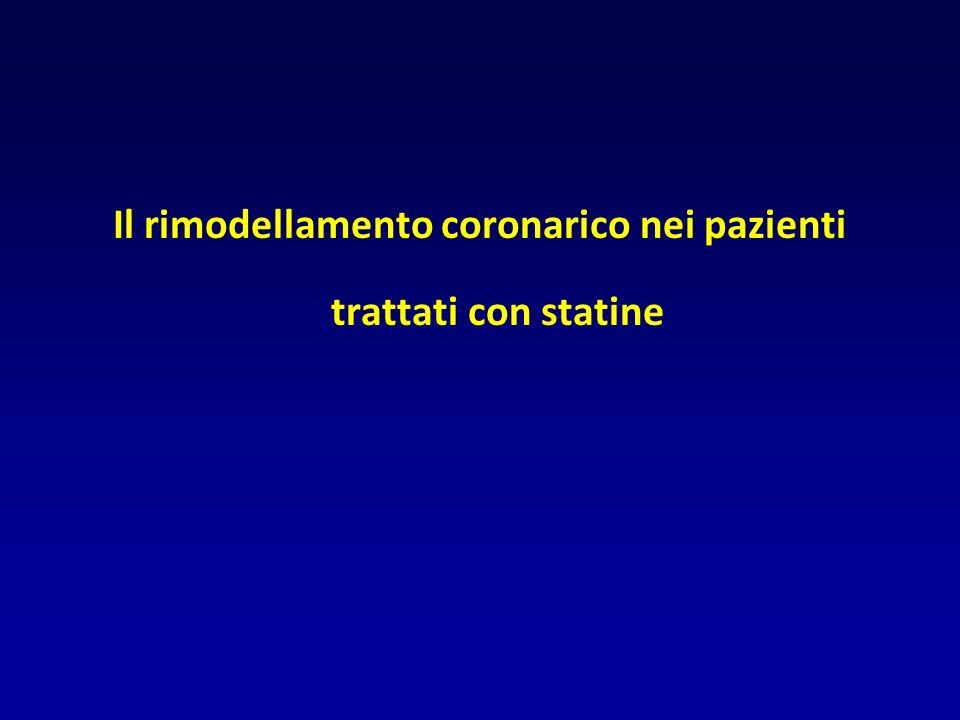 Il rimodellamento coronarico nei pazienti trattati con statine