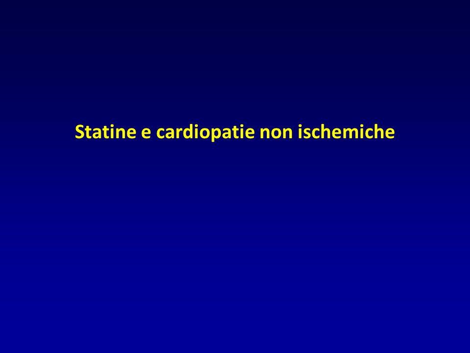 Statine e cardiopatie non ischemiche