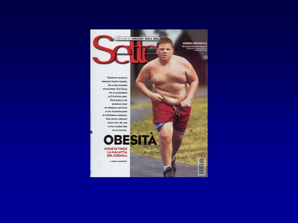Bisogna, alla luce dell'elevatissima prevalenza della sindrome metabolica, educare già i nostri giovani ad una corretta alimentazione associata ad un adeguato esercizio fisico.
