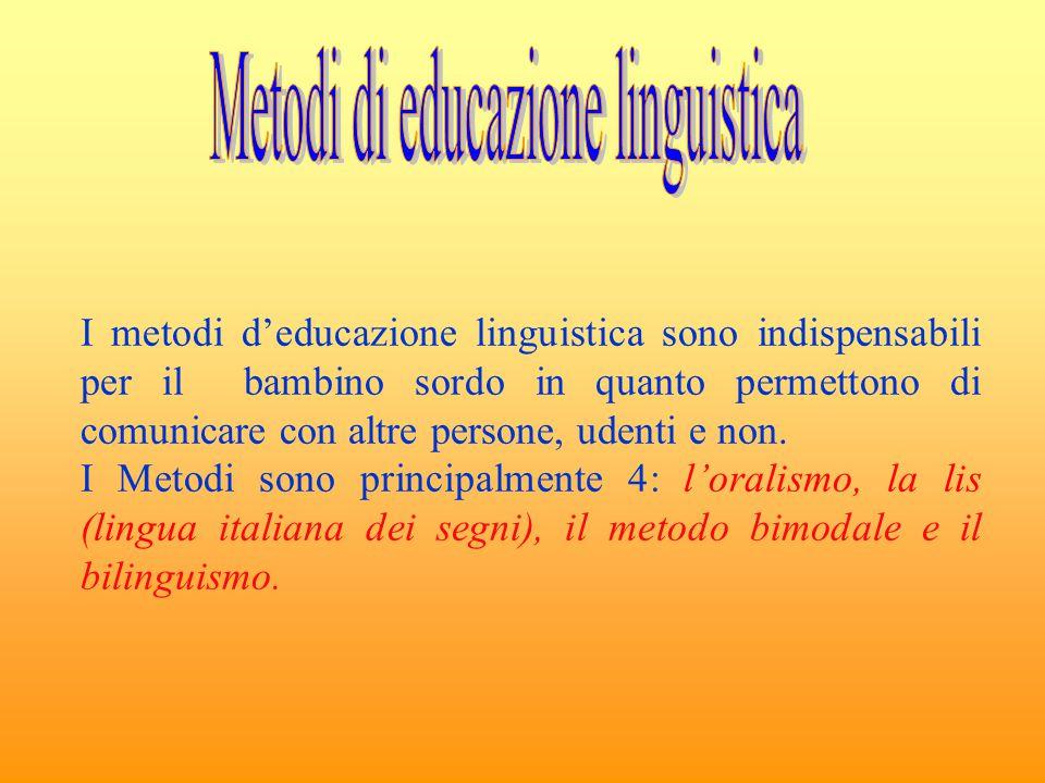 Metodi di educazione linguistica