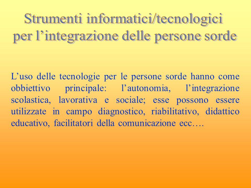 Strumenti informatici/tecnologici