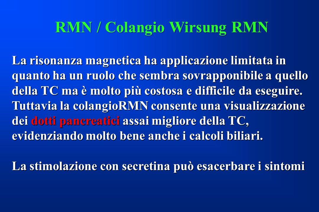 RMN / Colangio Wirsung RMN