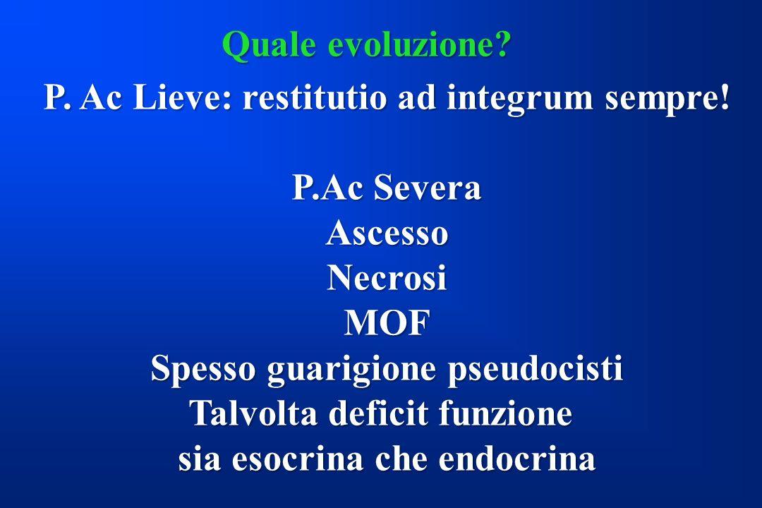 P. Ac Lieve: restitutio ad integrum sempre! P.Ac Severa Ascesso