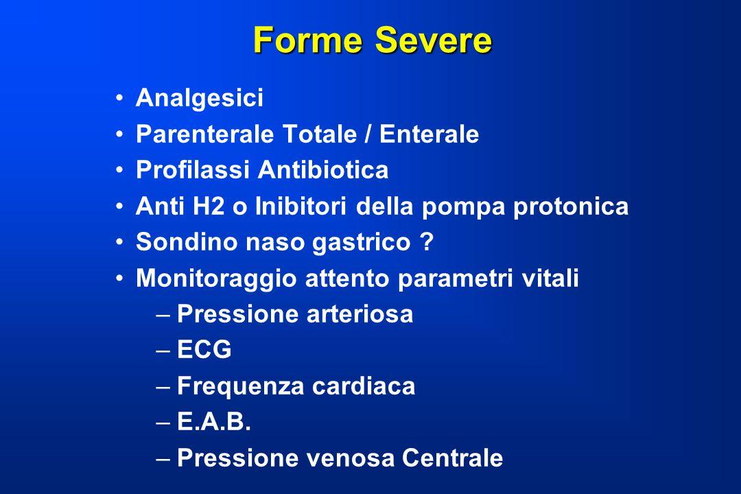 Forme Severe Analgesici Parenterale Totale / Enterale