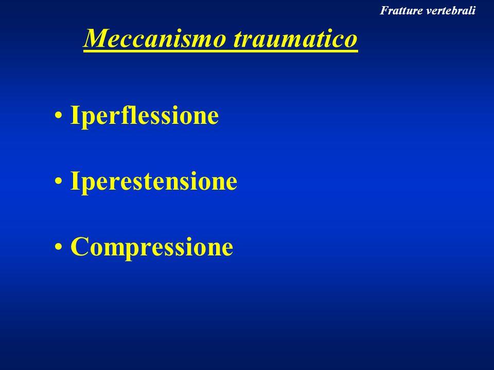 Meccanismo traumatico