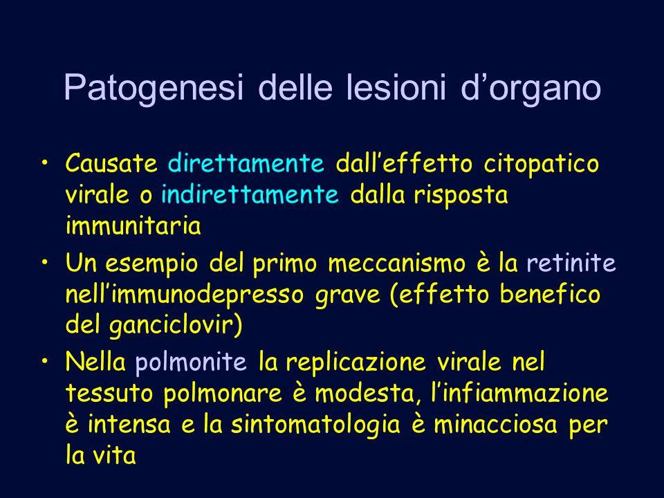 Patogenesi delle lesioni d'organo