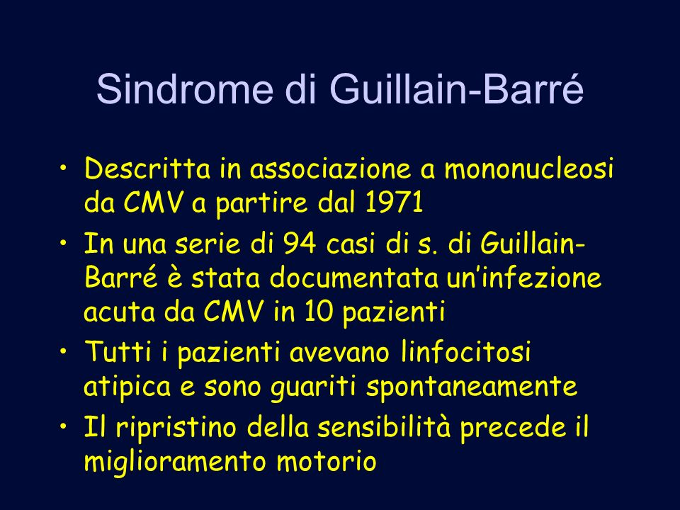 Sindrome di Guillain-Barré