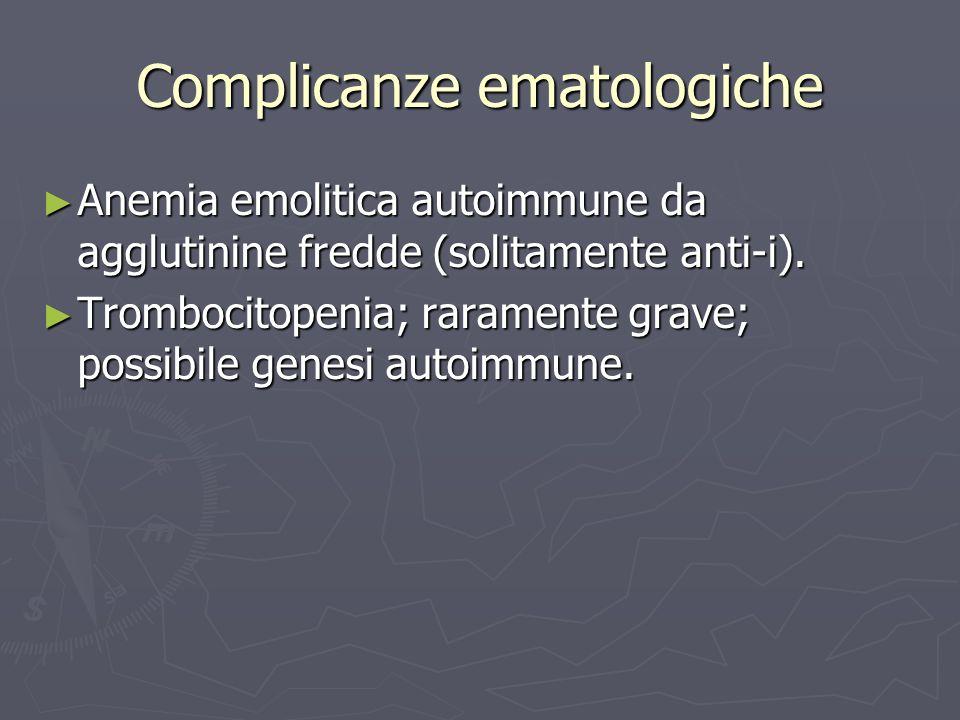 Complicanze ematologiche