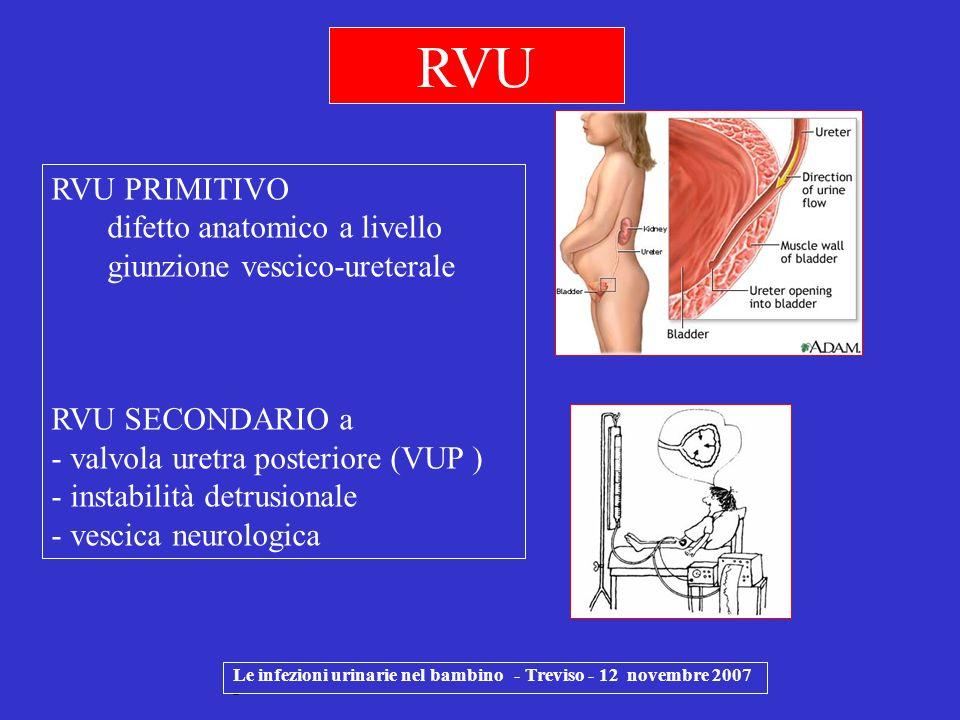 RVU RVU PRIMITIVO difetto anatomico a livello