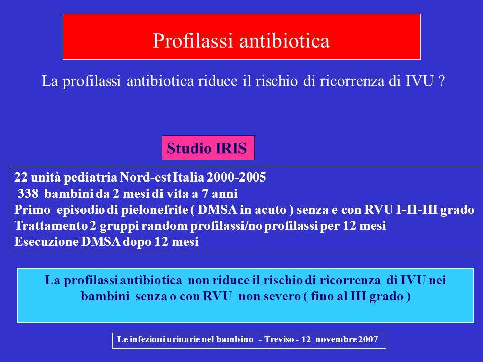 Profilassi antibiotica