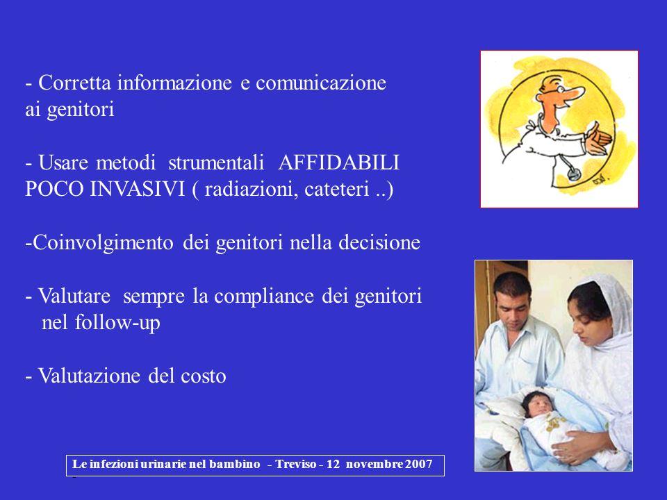 Corretta informazione e comunicazione ai genitori