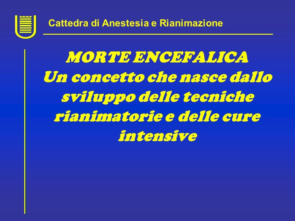 Cattedra di Anestesia e Rianimazione