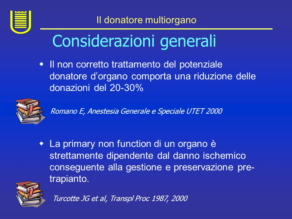Il donatore multiorgano