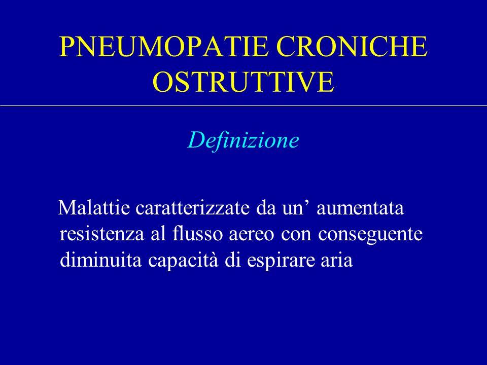 PNEUMOPATIE CRONICHE OSTRUTTIVE