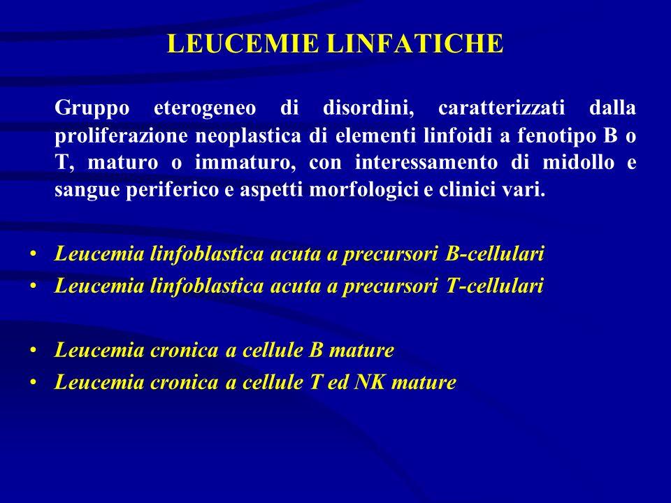 LEUCEMIE LINFATICHE