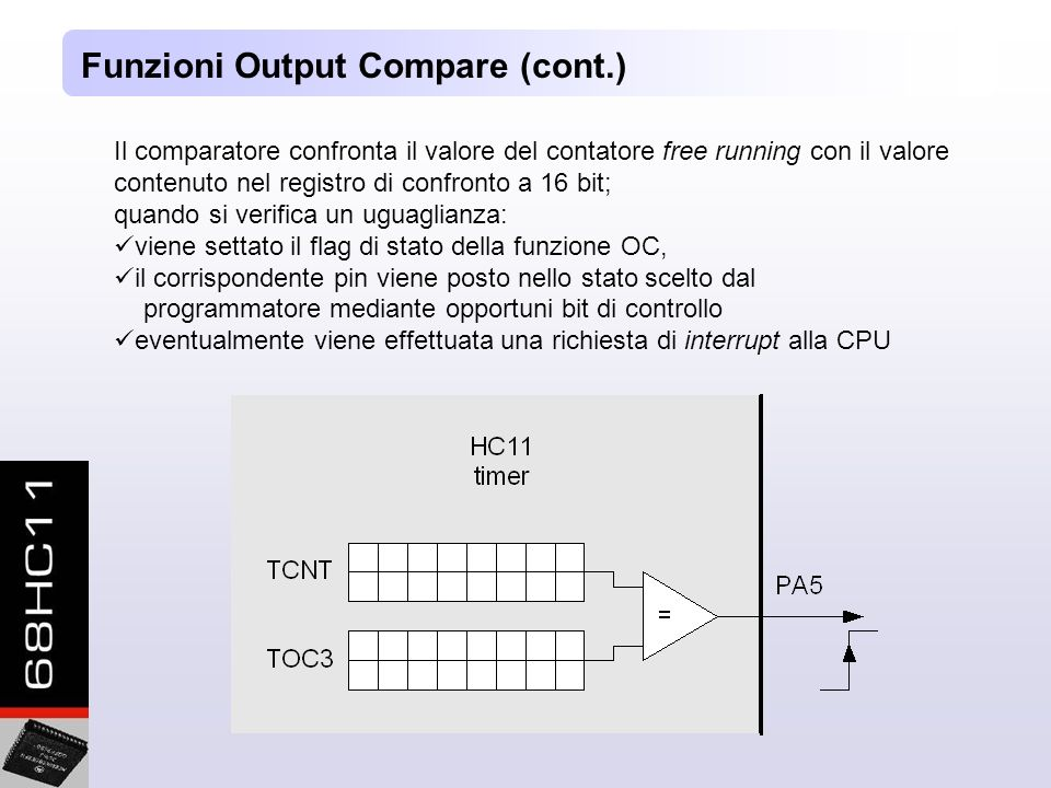 Funzioni Output Compare (cont.)