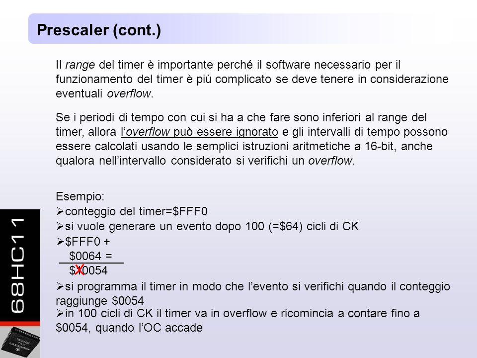 Prescaler (cont.)