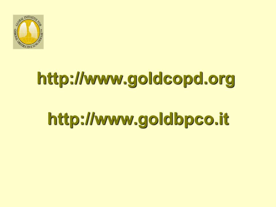 http://www.goldcopd.org http://www.goldbpco.it