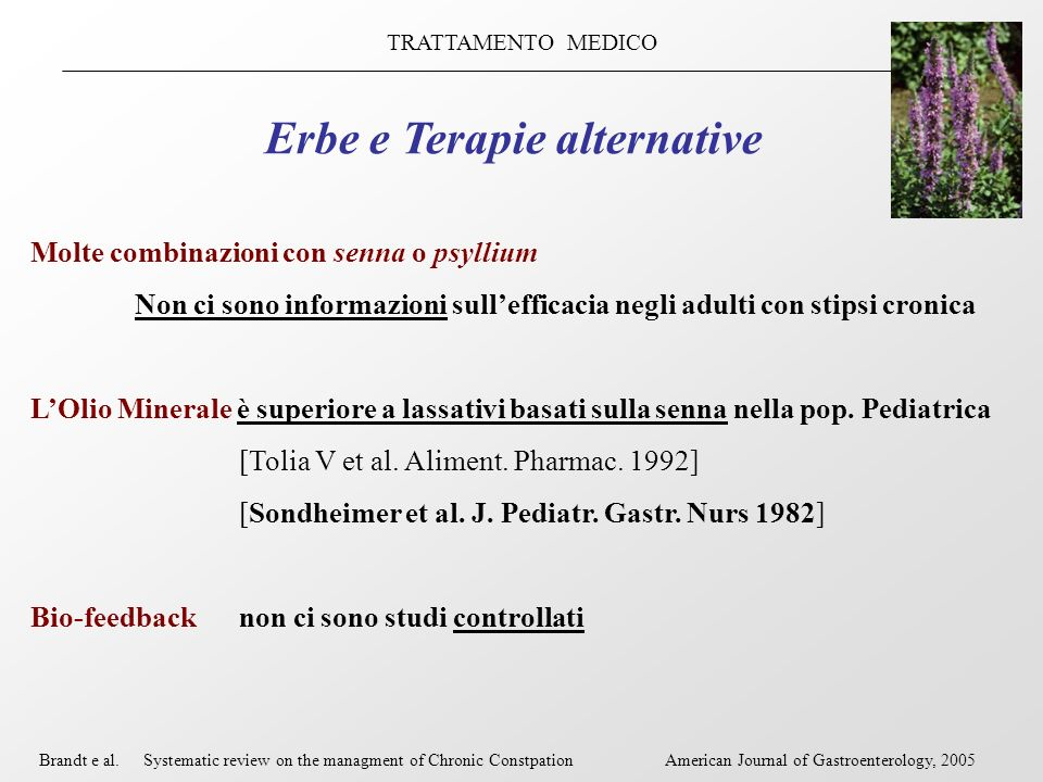 Erbe e Terapie alternative
