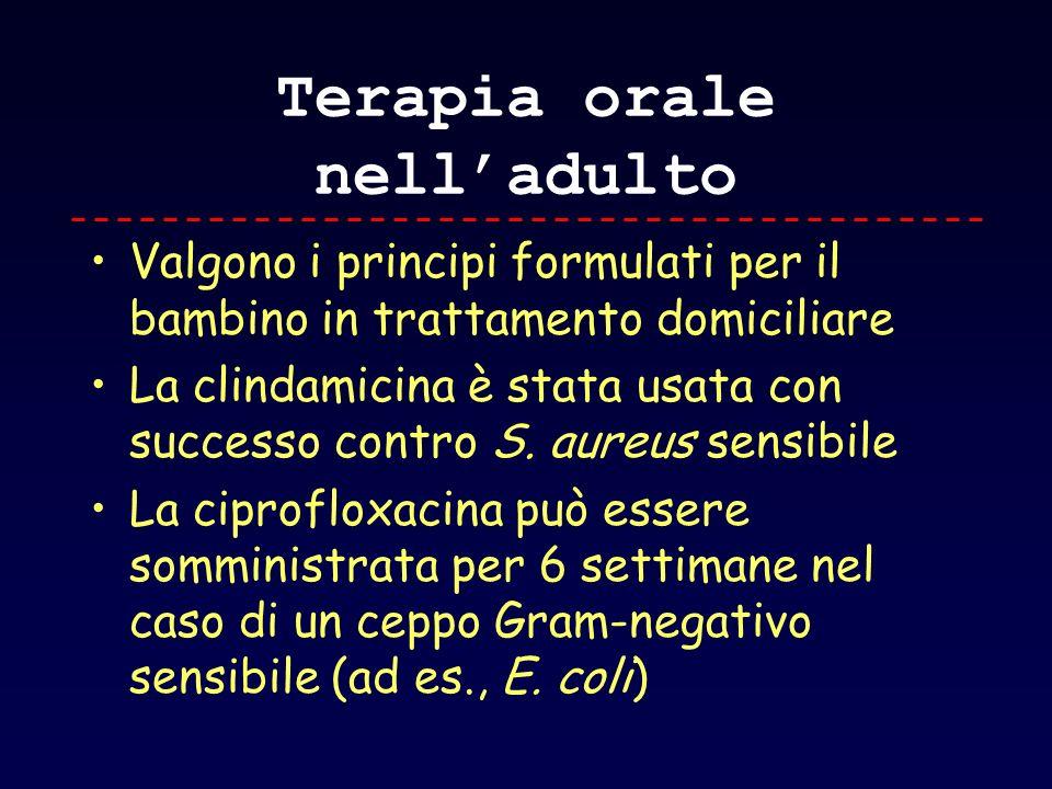 Terapia orale nell'adulto