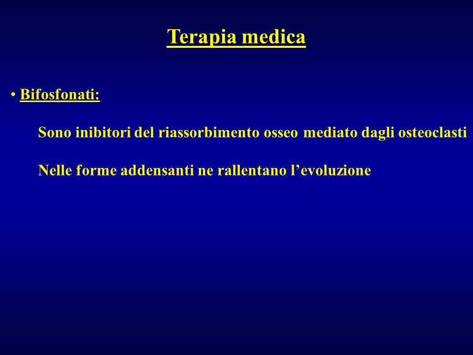 Terapia medica Bifosfonati: