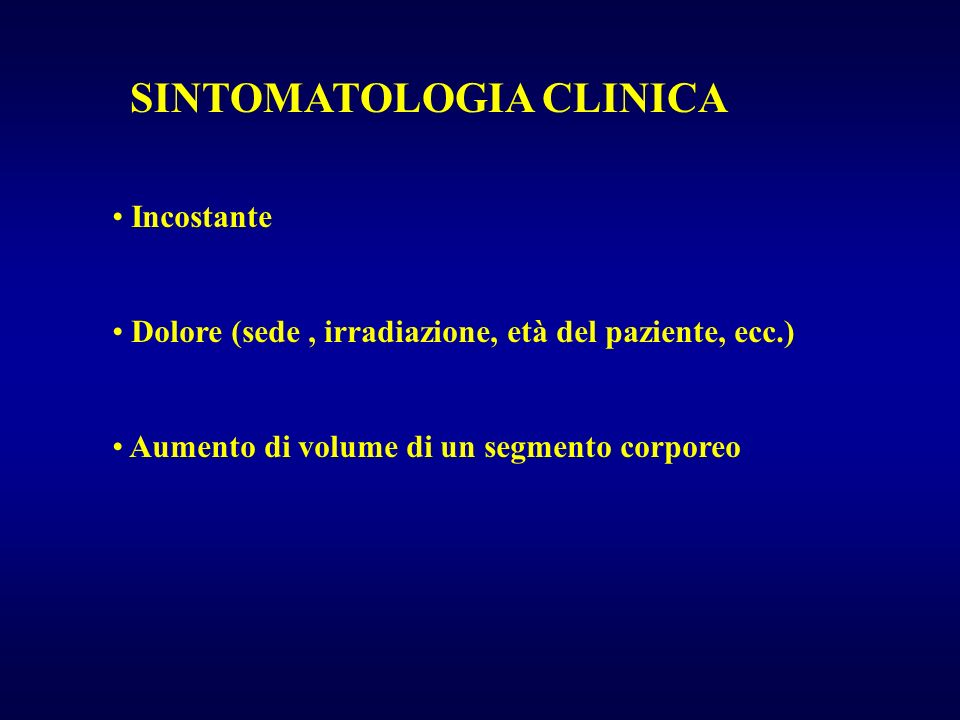 SINTOMATOLOGIA CLINICA