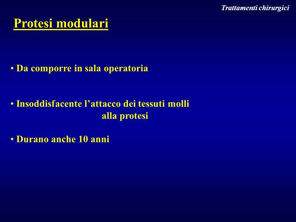 Protesi modulari Da comporre in sala operatoria