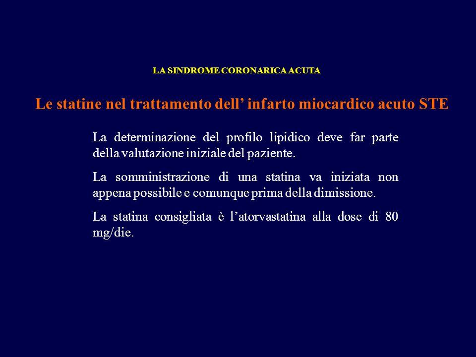 Le statine nel trattamento dell' infarto miocardico acuto STE