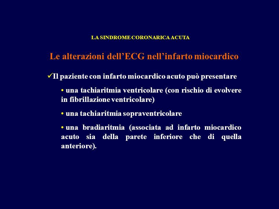 Le alterazioni dell'ECG nell'infarto miocardico