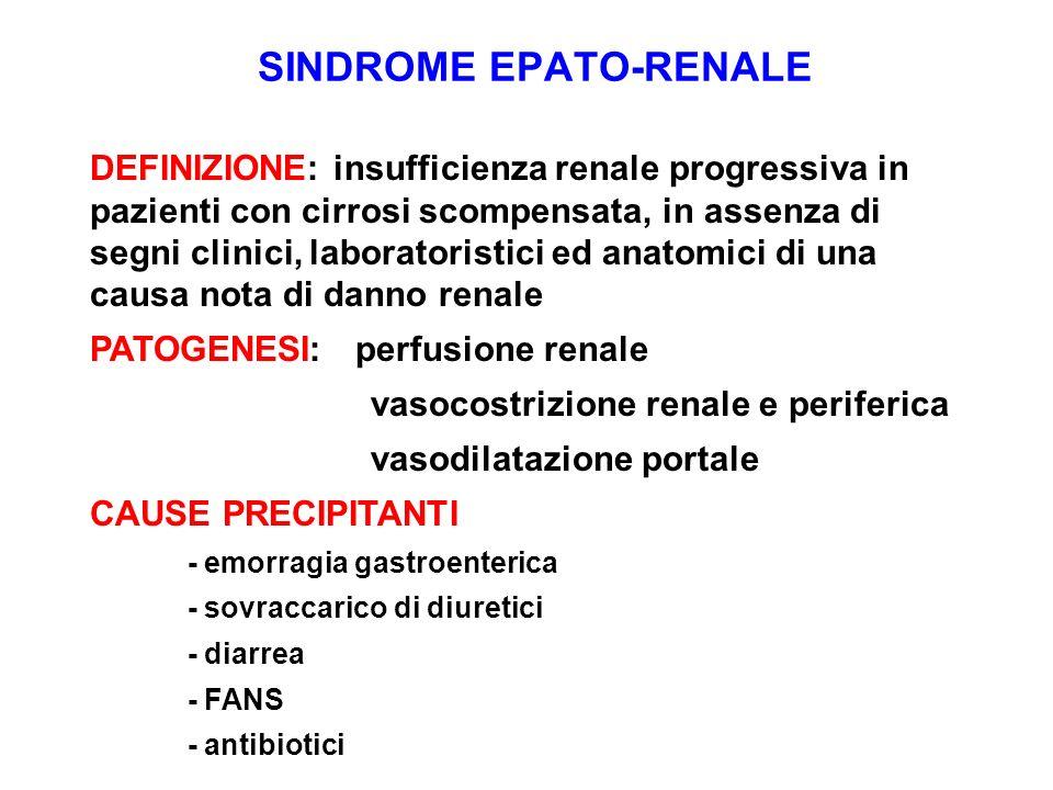 SINDROME EPATO-RENALE