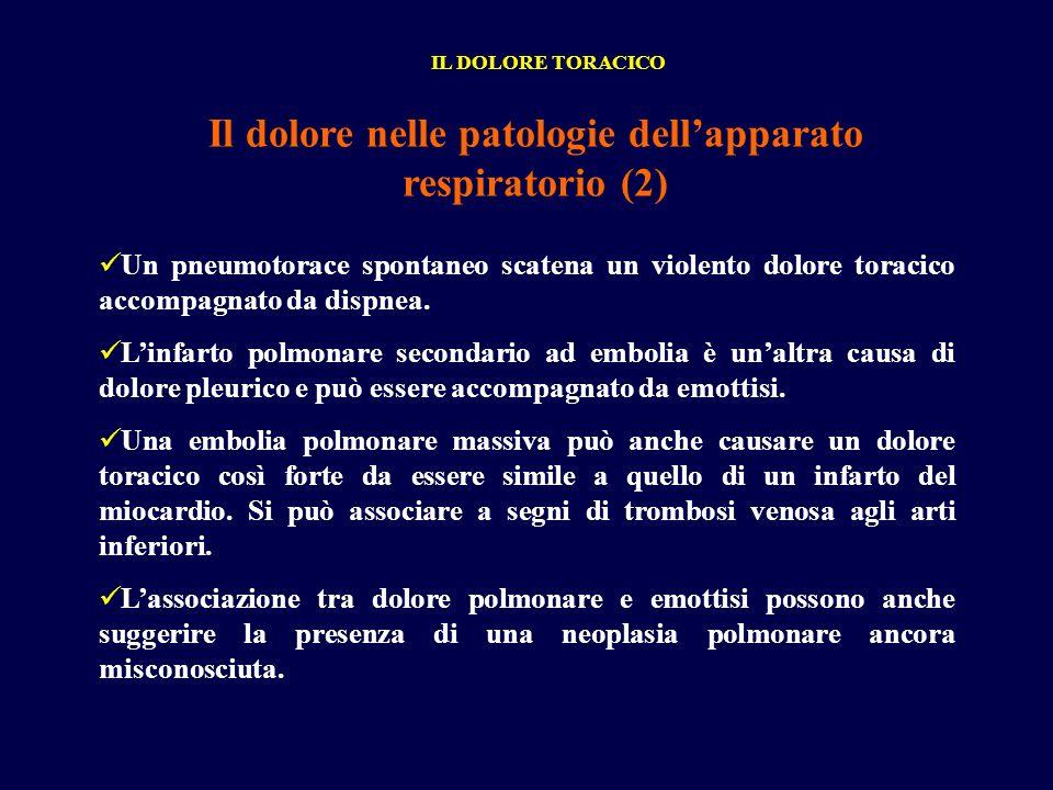 Il dolore nelle patologie dell'apparato respiratorio (2)
