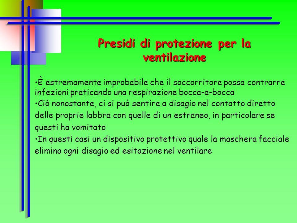 Presidi di protezione per la ventilazione